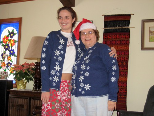 Matching Christmas Sweaters, by Matthew Bietz, Creative Commons: Attribution-NonCommercial-ShareAlike 2.0 Generic.