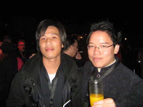 "With Chang Rong-ji (""The End Of The Tunnel""), Dubai Film Fest 2008 Closing Ceremony"