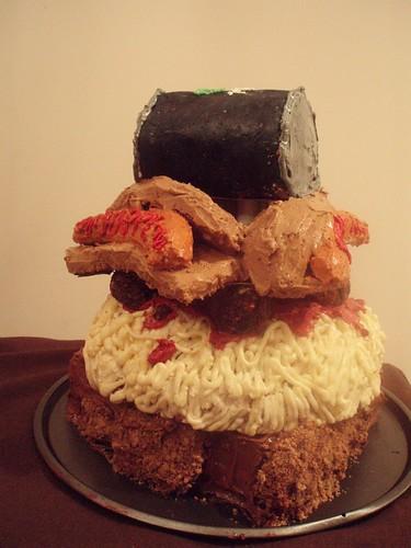 27th Birthday Cake. me to make a irthday cake
