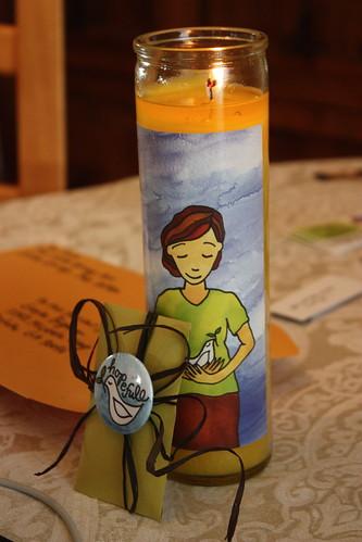 Hopefull candle