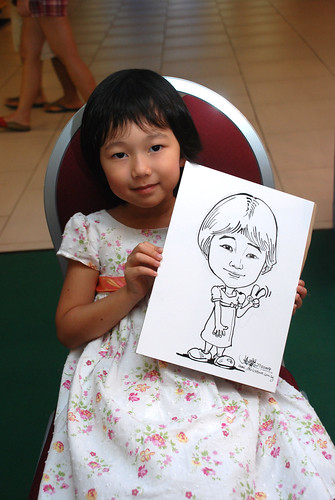 Caricature live sketching for Marina Square Day 2 - 23