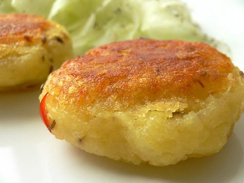 Aloo Tikki - Kartoffelküchlein