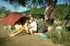 "Camping de Bussaglia : le ""campement"""