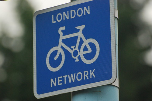 London Bike Network Sign