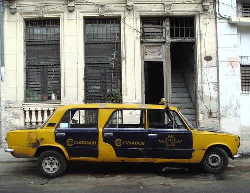 trompe oeil taxi