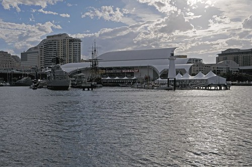 Lighthouse and ships, National Maritime Museum, Darling Harbour, Sydney