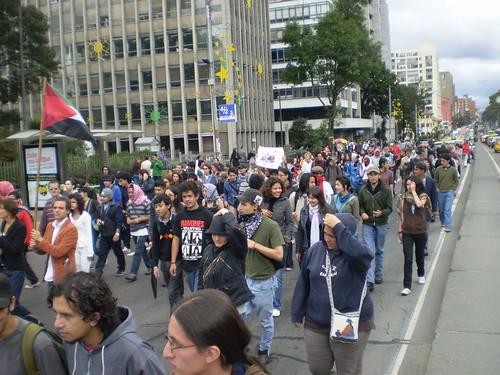 Marcha apoyo a Palestina / Gaza en Bogotá, Colombia - 20090106 - 1061727