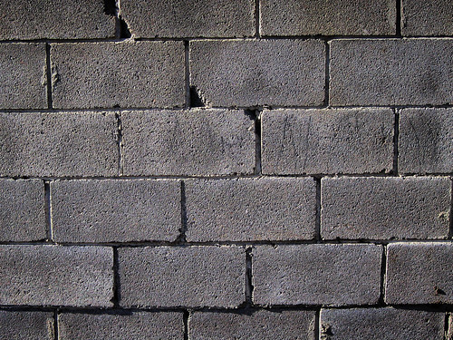 concrete block texture. Concrete Block Wall