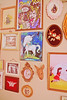 Wall Candy 2 (boopsie.daisy) Tags: pictures red bunny bunnies art girl dutch birds wall vintage butterfly skull louis living frames head room keith velvet deer fawn pastels cherub prints mick cupid ornate decor unicorn richards rollingstones oval jagger centaur timssally dollfacedesign