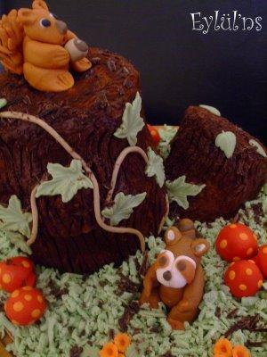 Kütük Pasta...Buche de Noel-2