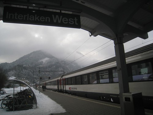 Interlaken West train station