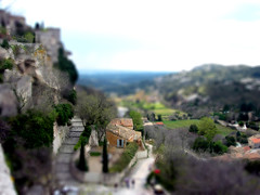 Les Baux de Provence (jssutt) Tags: france villages getty provence lesbaux gettyimages bouchesdurhne faketiltshift jssutt jeffsuttlemyre