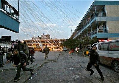 BOMBA DE FOSFORO EN GAZA 3
