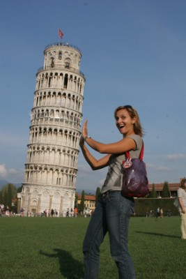 The Leaning Tower of Tourism