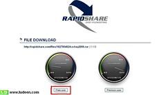 1 ดาวโหลดไฟล์จาก rapidshare.com