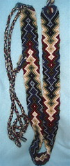 Strike my fancy Boho Belt (Starlily creations) Tags: belt hand tied knotted