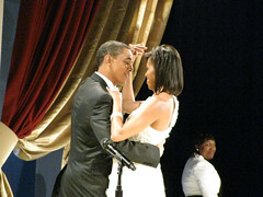 President Obama and the First Lady (DaveMN) Tags: inauguration barackobama inauguralball michelleobama presidentobama