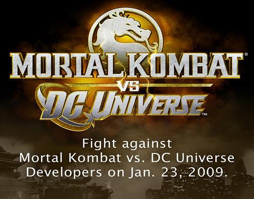 MK vs. DC Universe poster