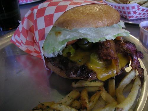 BBQ Buffalo Burger