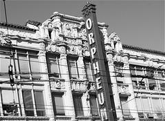 Orpheum Theatre, Market Street, San Francisco (Ed Brodzinsky) Tags: sanfrancisco california architecture theater architect theaters marketstreet vaudeville orpheumtheatre pantagestheater spanishmoorish spanishbaroque bmarcuspriteca