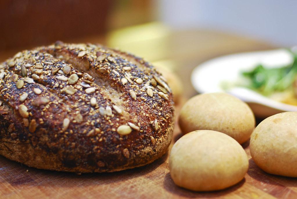 seeded multigrain bread - w/ recipe
