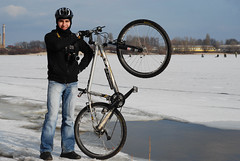 Vyshgorod winter bike-tour (jan 2009)