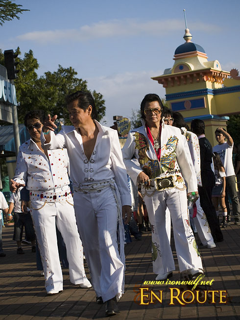 Elvis Walking in Enchanted Kingdom