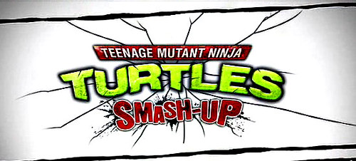 TMNT Smash Up Wii logo