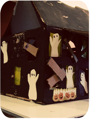 Haunted House Valentine's Box