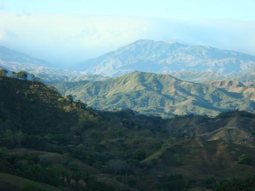 Nice hills in western Panama.