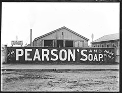 Pearsons Soaps advertisement, Hunter Street, Newcastle West, NSW, 24 June 1898 (Cultural Collections, University of Newcastle) Tags: ads newcastle australia advertisement nsw 1898 hunterstreet hunterst pearsons ralphsnowball snowballcollection ralphsnowballcollection asgn0662b28 pearsonssoap newcastleregionnswhistorypictorialworks photographynewsouthwalesnewcastle