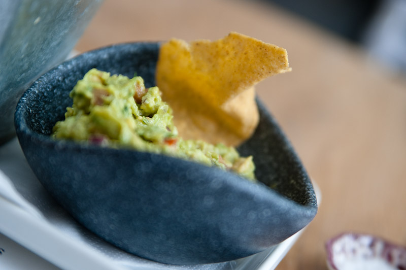 Lunch at wahaca - Chunky Guacamole with tortilla chips