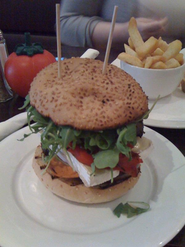 GBK veggie burger