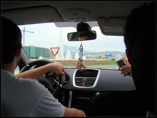 Llegando a Antequera