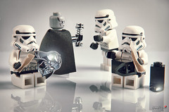 Vader's Orderlies (storm TK431) Tags: death star starwars lego darth stormtrooper vader lifeonthedeathstar