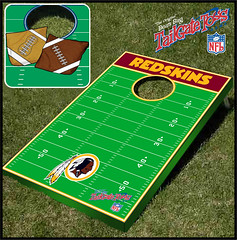 Washington Redskins Bean Bag Toss Game