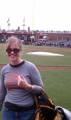 Little League Day Giants Game