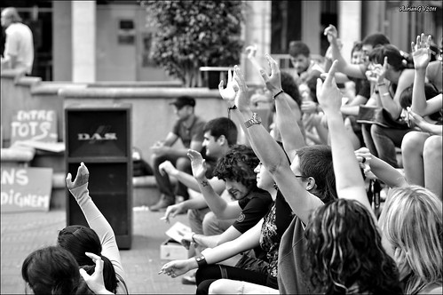 Indignats del moviment 15 Març 9 by ADRIANGV2009