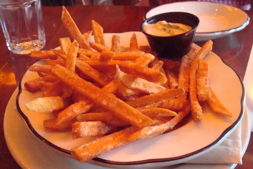 Sweet Potato Fries w/pasilla garlic aioli