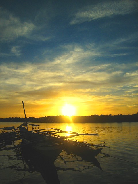 Pagsanghan Samar sunset