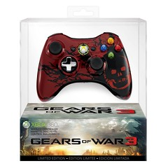 Gears of War 3 Xbox 360 controller