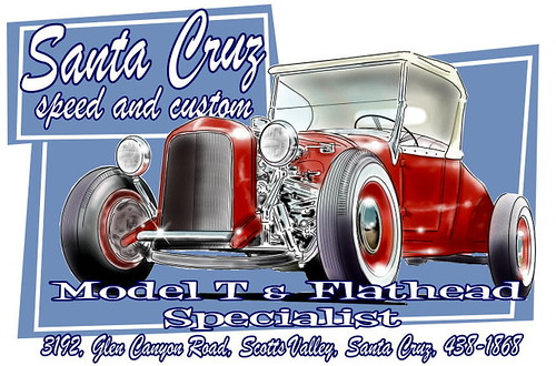 Our latest design..Santa Cruz speed and custom by paulatxntric