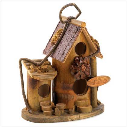 BIRD CAFE BIRDHOUSE B12604
