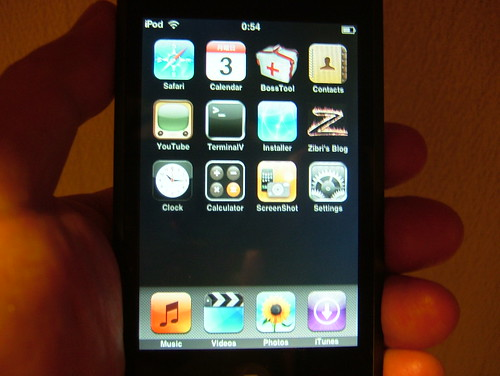 iPod touch 1.1.4 jailbroken