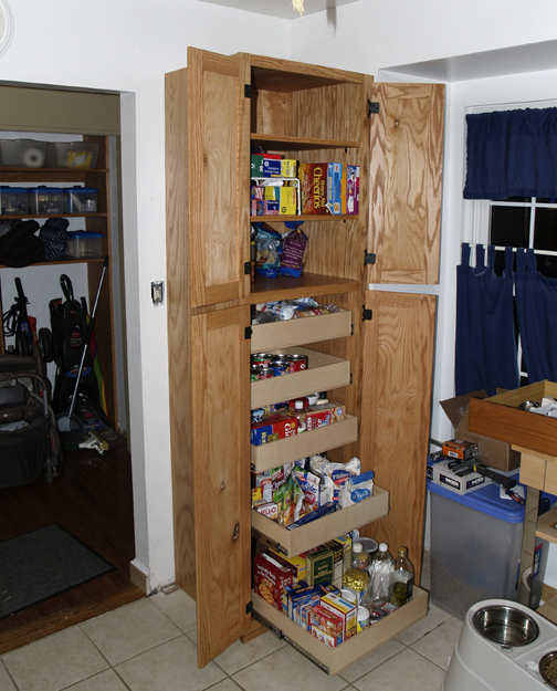 Built In Kitchen Pantry Ideas: Pantry Cabinet Plans Needed