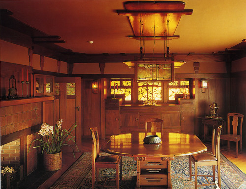 Gamble house, dining room