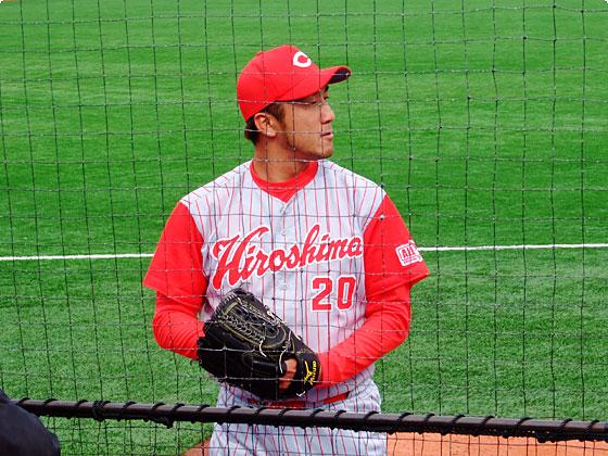 #20 永川投手