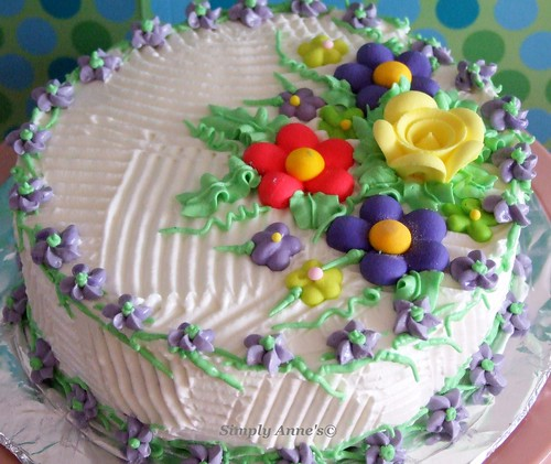 Ube Pandan Party Cake