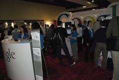 The Google booth at SES NY 08