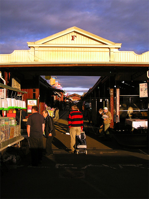 F-Shed at Queen Vic Market, Melbourne